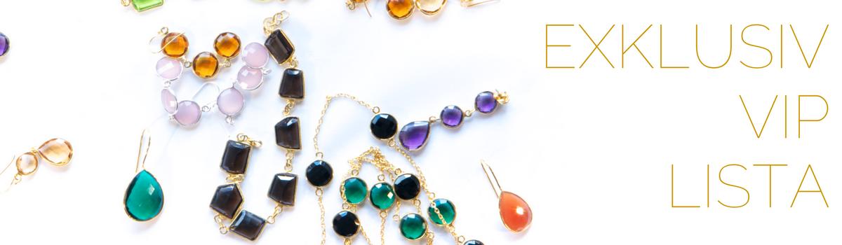 Få förtur till nya smycken, få exklusiva rabatter och mycket mer